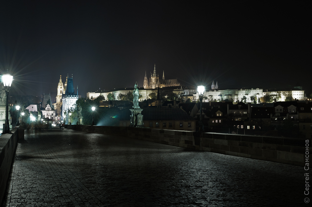 Just a common night in Prague