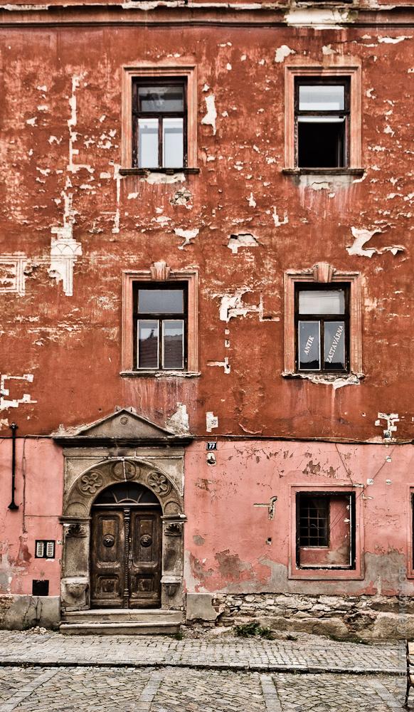 Фасад в Крумлове