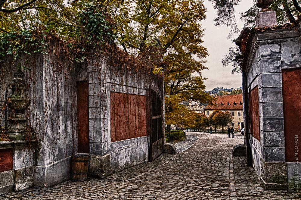 Ворота в крепости, Крумлов
